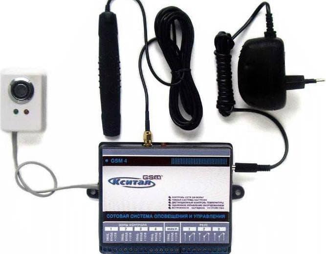 gsm сигнализация для дачи с видеокамерой от Кситал GSM