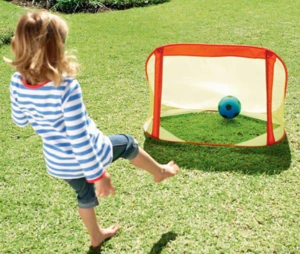 мини футбольные ворота детские для дачи
