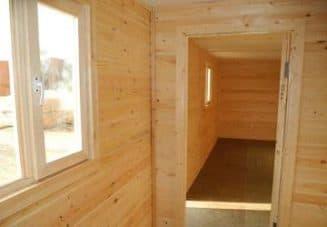 дачные бытовки с душем и туалетом