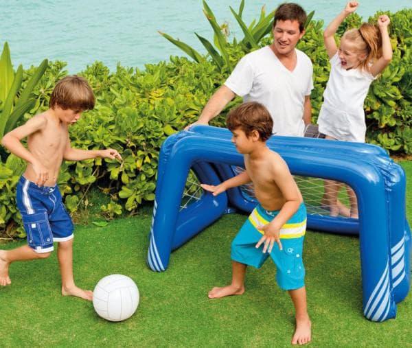 футбольные ворота детские для дачи от Intex