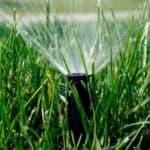 разбрызгиватель для полива газона