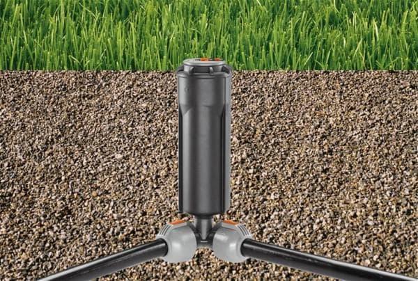 выдвижные дождеватели для полива огорода