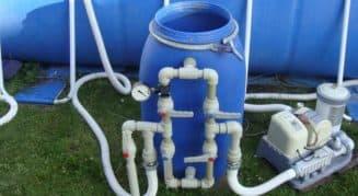 песочный фильтр насос для бассейна