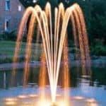 фонтанные насосы с подсветкой