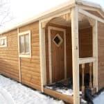 проекты каркасных домов бань