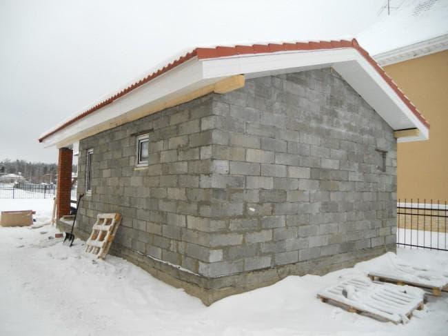 Проекты бань из пеноблоков своими руками: как рассчитать размер для строительства
