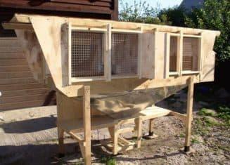 проект клетки для кроликов