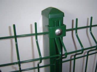 сетка для забора с полимерным покрытием