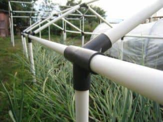 дуги для парников из пластиковых труб