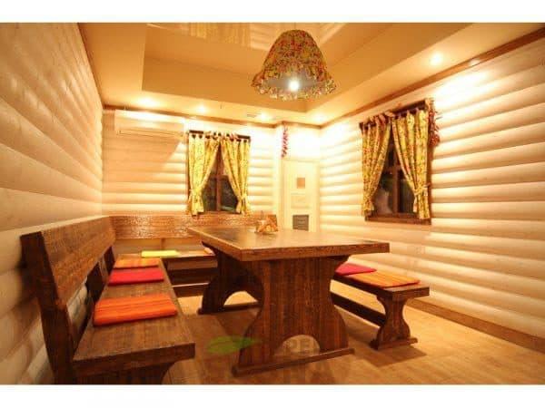 комната отдыха в бани 6х4
