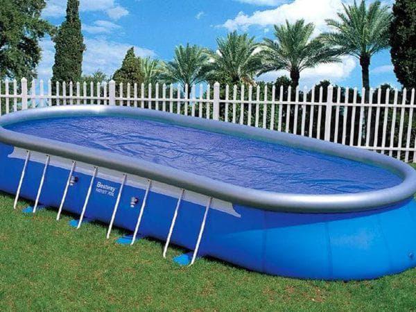 мобильный бассейн для бани