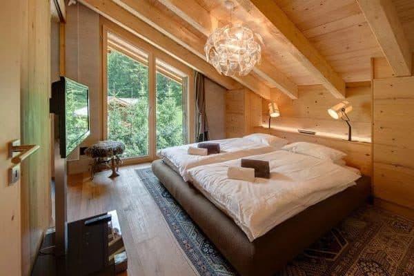 спальня в бани 6х4