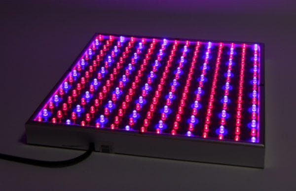 квадратный светодиодный фитосветильник для растений