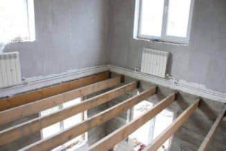 деревянные межэтажные перекрытия в доме из газобетона
