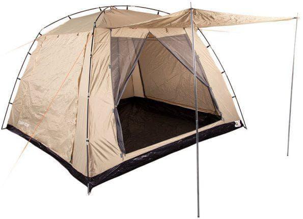непромокаемый и ветроустойчивый шатер для дачи Coleman