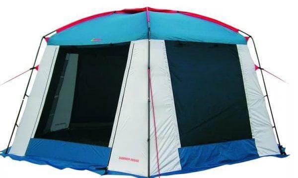 непромокаемый и ветроустойчивый шатер для дачи High Peak