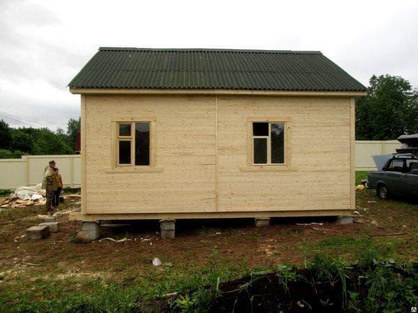Каркасно щитовые дачные дома 5 на 5