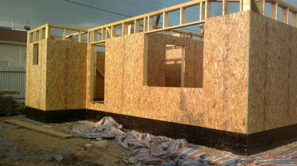 ОСБ плиты для стен каркасного дома