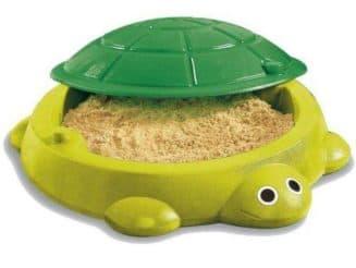 песочница черепаха с крышкой