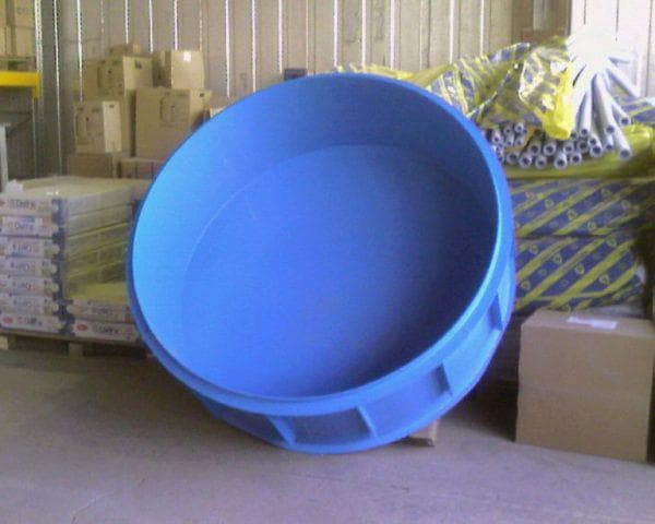 круглые пластиковые емкости для воды на дачу