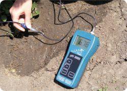 измерение кислотности на участке