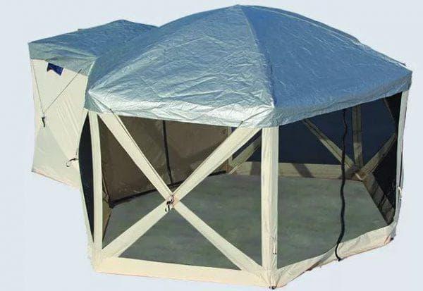 непромокаемый и ветроустойчивый шатер для дачи EasyGo
