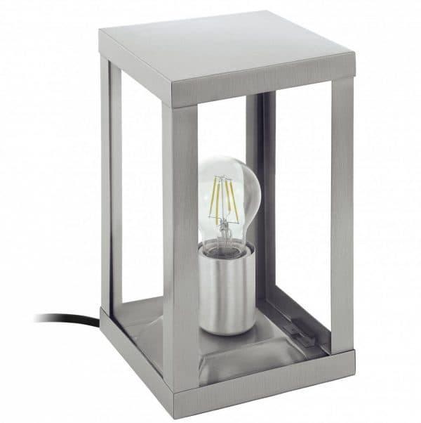 наземный уличный светильник с питанием от провода