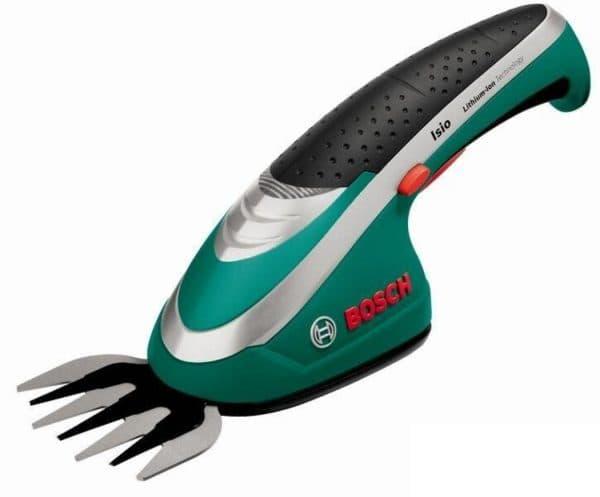 садовые аккумуляторные ножницы BOSCH ISIO 3