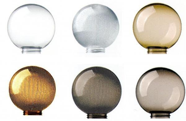 плафоны для фонарей в форме шаров