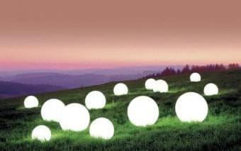 грунтовые сферические светильники