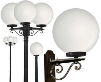 сферические фонари по назначению