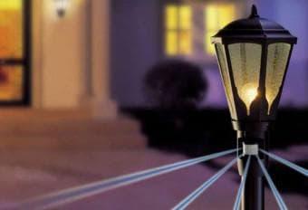 фонарь оборудованный датчиком движения