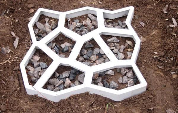 рамка для садовых дорожек