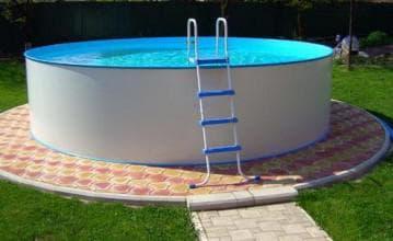 виды бассейнов из каркаса