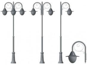 светодиодные фонари для столбов