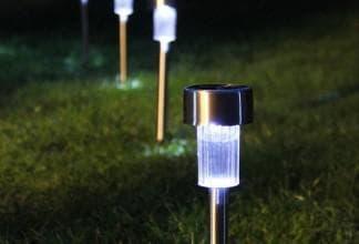 светодиодные светильники на солнечныз батареях
