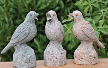 птицы из монтажной пены
