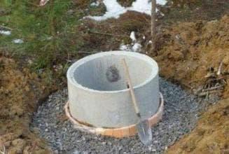 устройство бетонных колодцев