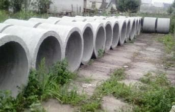 использование бетонных колец
