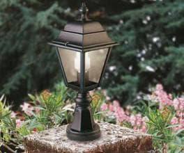 виды светильников на столб
