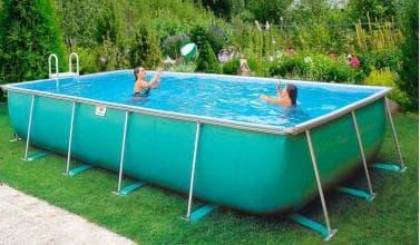 характеристики бассейнов из каркаса