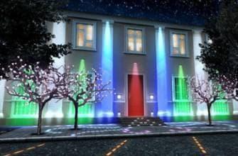 виды светодиодов на столбы