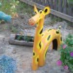 поделки из покрышек для детской площадки