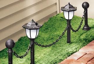 преимущества солнечного питания фонарей