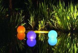 солярные лампы для подсветки