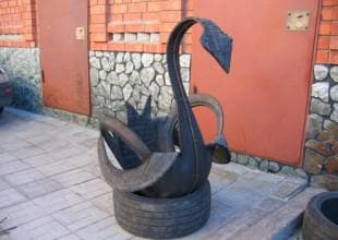 инструкция по изготовлению лебедя