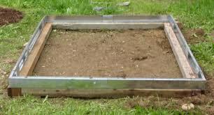 установка теплицы на брусковый фундамент