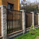 бетонные колпаки на столбы забора