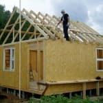 как построить террасу к дому