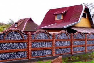 декоративные панели для забора из бетона
